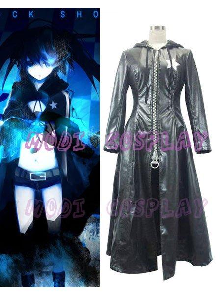 Vocaloid Miku Black Rock Shooter Anime cosplay Costume