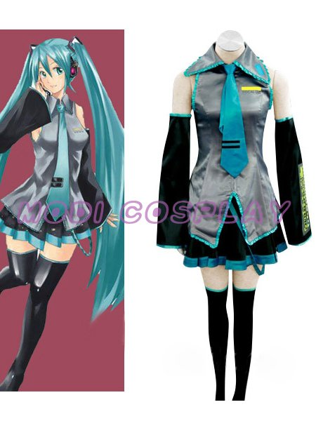 Vocaloid Hatsune Miku Cosplay Costume,all size