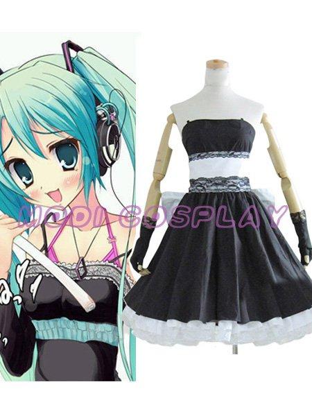 Vocaloid Hatsune Miku Dress Cosplay Costume,all size