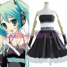 Vocaloid Hatsune Miku Dress Cosplay Costume,all size
