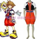 Kingdom Hearts Sora Anime Cosplay Costume,all size
