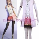 Final Fantasy XIII Sara Anime Cosplay Costume NEW