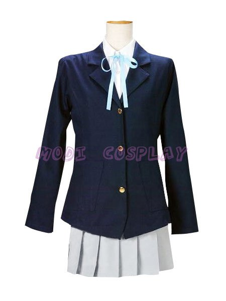 Anime K-On Yui Girls Uniform Cosplay costume,all size