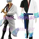 Gintama Gintoki Sakata Cosplay Costume,all size