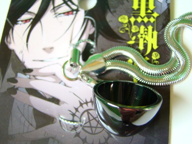 Black Butler Cup Anime Cosplay Costume  Keychain