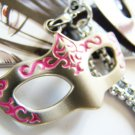 Black Butler Mask Cosplay Costume Keychain Accessory