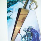 Final Fantasy Game Anime Sword Keychain High Quanlity F02-3 -