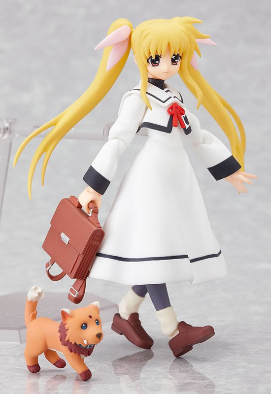 Figma 062 Magical Girl Lyrical Nanoha A's Fate Testatossa Uniform Vers. Collection Action Figure