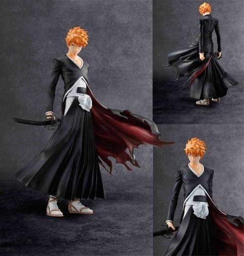GEM Series Bleach Ichigo Kurosaki Bankai Vers. PVC Collection Figure