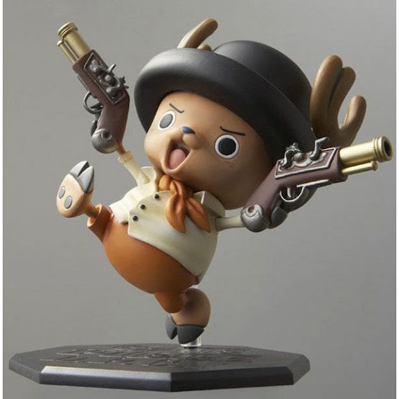 One Piece DPCF Door Painting Collection Figure Tony Tony Chopper (Western Ver.)