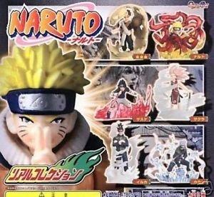 Naruto Gashapon Figure Part 1 Full Set of 6