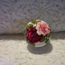 ROMANTIC ROSES CABINET KNOBS NIP SET OF SIX