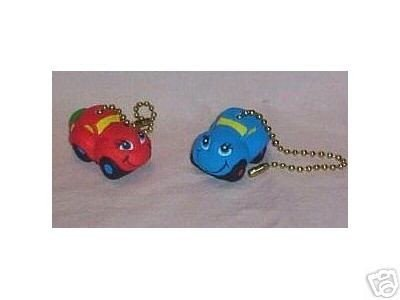 Little cars Ceiling fan pulls NEW in the packages (2) Full 3-D