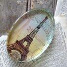 LARGE Paris France Eiffel Tower Vintage-Look Heavy Paperweight