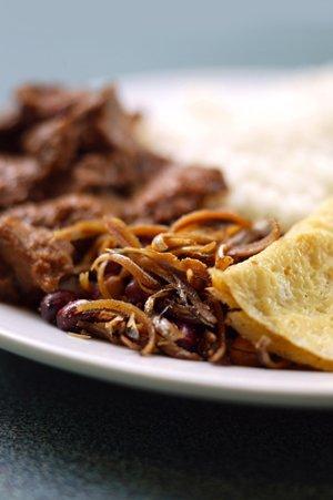 Nasi Lemak Daging Kambing