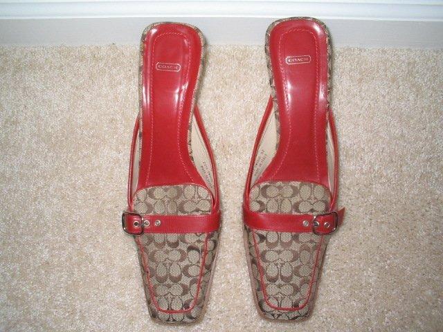 Coach Mule Shoes