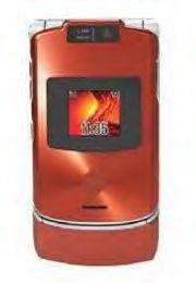 Motorola V3XX Cell Phone (unlocked) - Orange
