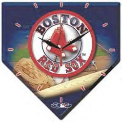 Boston Red Sox MLB High Definition Clock