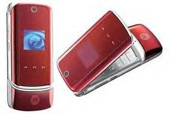 MOTOROLA KRZR K1 RED Unlocked GSM Phone