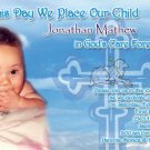 Photo Baptism and Christening Invitations 5 x 8 Lamb of the World