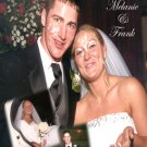 Custom Collage with Inset Photos Color Wedding Photo Thank You Card