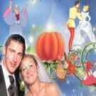 Wedding Photo Thank You Card Royal Princess Cinderella