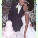 Wedding Photo Thank You Card Flower Vines