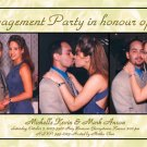 Three Photos any Color Photo Engagement and Wedding Announcements 5x8