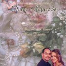 Vintage Roses & Pearl Photo Engagement & Wedding Announcements 5 x 8