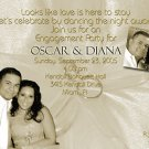 Vintage Rings Photo Engagement and Wedding Announcements 5 x 8