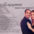 More Color Choices Photo Engagement and Wedding Announcements 5 x 8