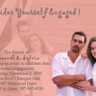 More Custom Colors Photo Engagement and Wedding Announcements 5 x 8