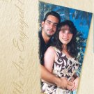 Textured any Color Photo Engagement and Wedding Announcements 5 x 8