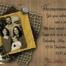 Elegant Photo Moving Announcement & Housewarming Party Invitations