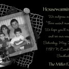 Modern BW Photo Moving Announcement & Housewarming Party Invitations