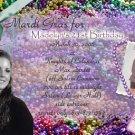 Mardi Gras Theme Celebration Photo Adult Birthday Invitations