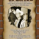 Sheriff's Western Wanted Poster Photo Adult Birthday Invitations