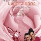 Pink Rose Silver Ring Personalized Photo Bridal Shower Invitations