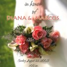Colorful Wedding Bouquet Personalized Photo Bridal Shower Invitations