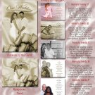 Vintage Roses Folded Photo Wedding Invitations Package