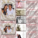 Royal Ball Princess Folded Photo Wedding Invitations Package
