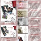 Single Red Rose Folded Photo Wedding Invitations Package