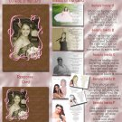Trendy Mocha Pink Any Color Photo Quinceanera Sweet 16 Invitations Pkg