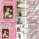 Trendy Pink Any Color Photo Quinceanera Sweet 16 Invitations Pkge