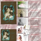 Trendy Brown Any Color Photo Quinceanera Sweet 16 Invitations Pkge