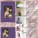 Trendy Purple Any Color Photo Quinceanera Sweet 16 Invitations Pkge