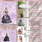Princess Castle Lavender Photo Quinceanera / Sweet 16 Invitations Pkge