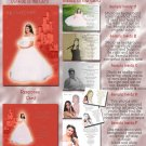 Princess Castle Red Photo Quinceanera / Sweet 16 Invitations Pkge