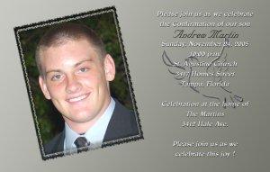 Silver and Dove Photo Communion Invitations & Confirmation Invitations