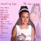 Multi Pics in Pink Lavender Photo Communion Invitations & Confirmation